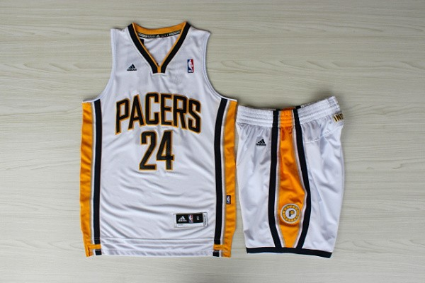Pacers 24 George White New Revolution 30 Suite Jerseys