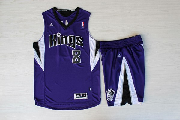 Kings 8 Gay Purple Jersey(With Shorts)