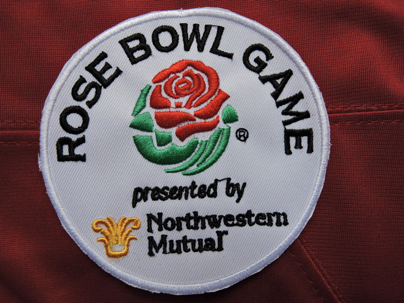 Rose Bowl Game Patch Presented By Northwestern Mutual