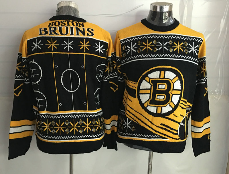 Boston Bruins Crew Neck Men's Ugly Sweater