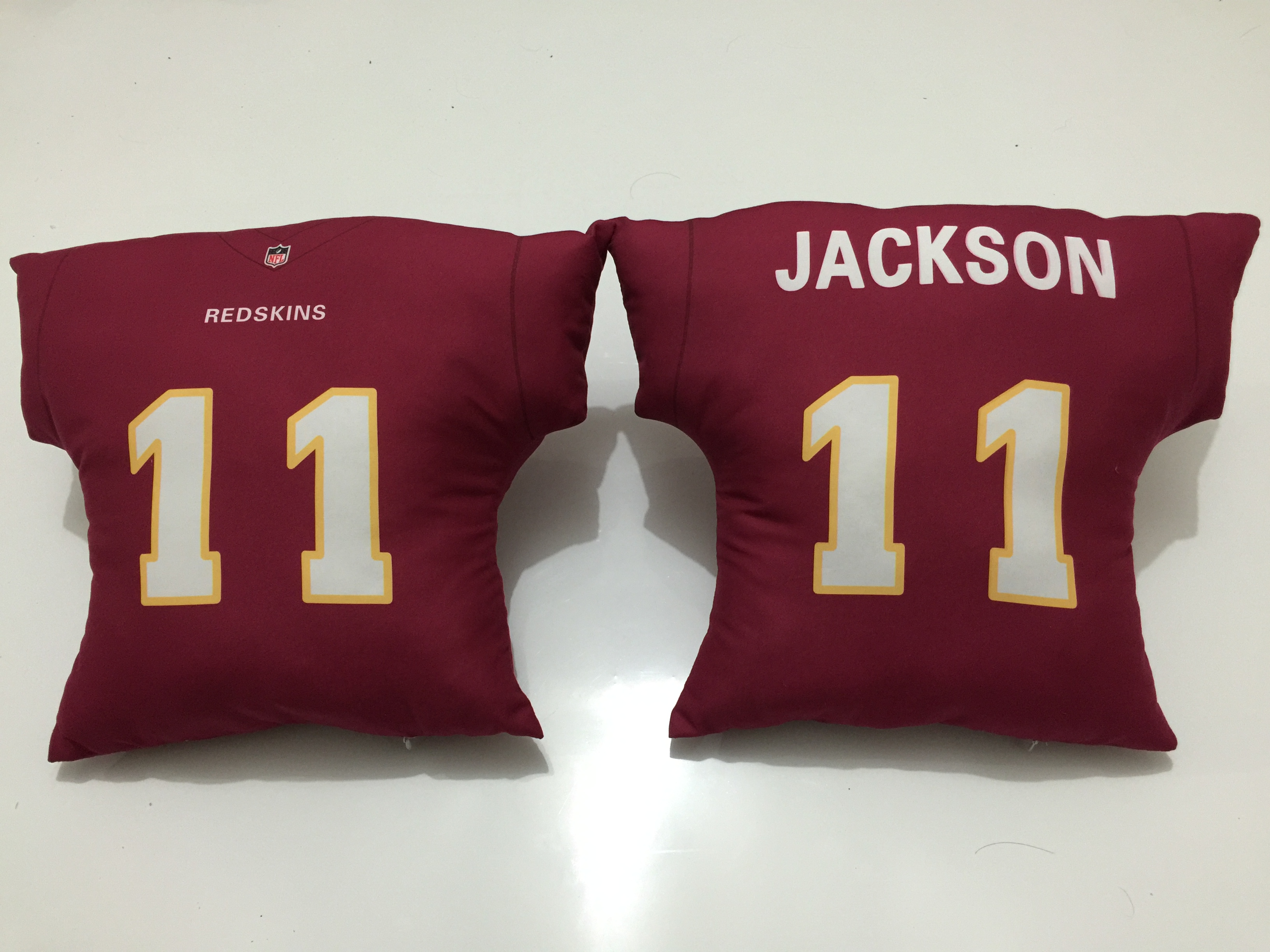 Washington Redskins 11 DeSean Jackson Burgundy NFL Pillow