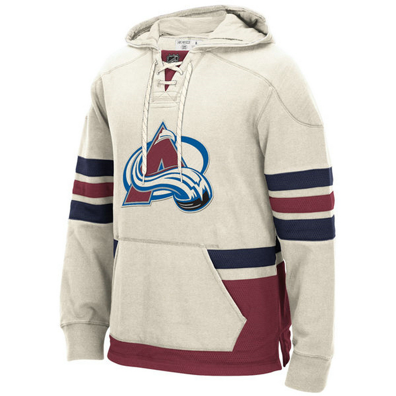 Avalanche Cream Pullover Men's Customized All Stitched Sweatshirt