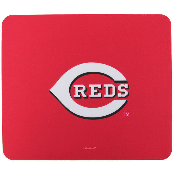 Cincinnati Reds Red Gaming/Office MLB Mouse Pad