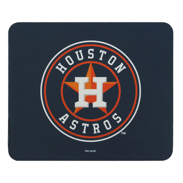 Houston Astros Navy Gaming/Office MLB Mouse Pad