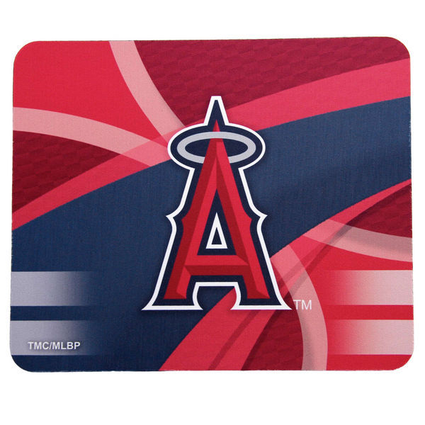Los Angeles Angels Red Gaming/Office MLB Mouse Pad