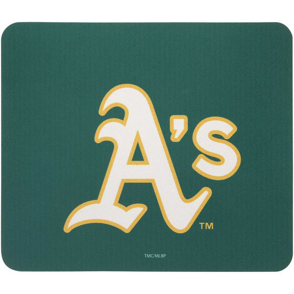 Oakland Athletics Green Gaming/Office MLB Mouse Pad