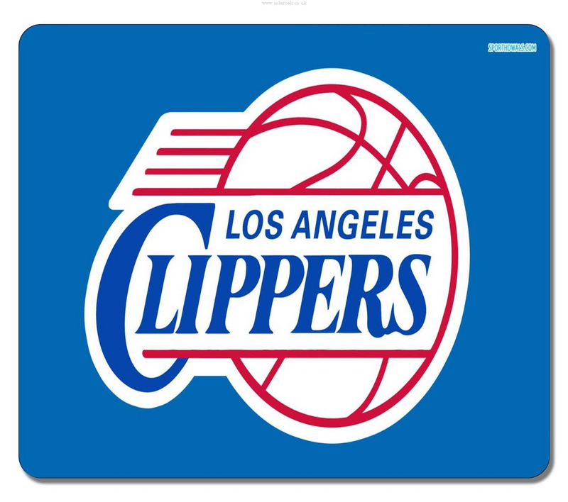 Los Angeles Clippers Blue Gaming/Office NBA Mouse Pad
