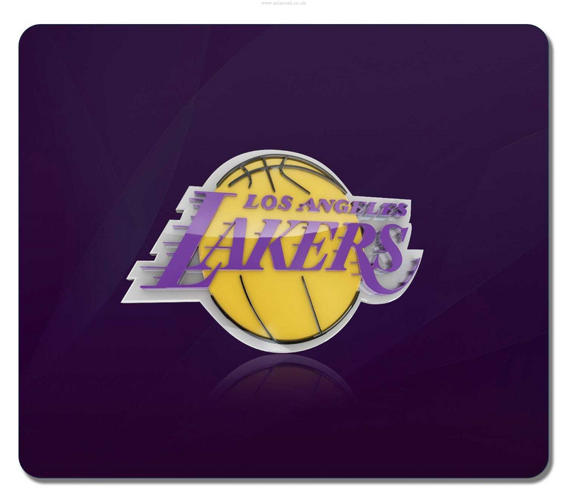 Los Angeles Lakers Purple Gaming/Office NBA Mouse Pad