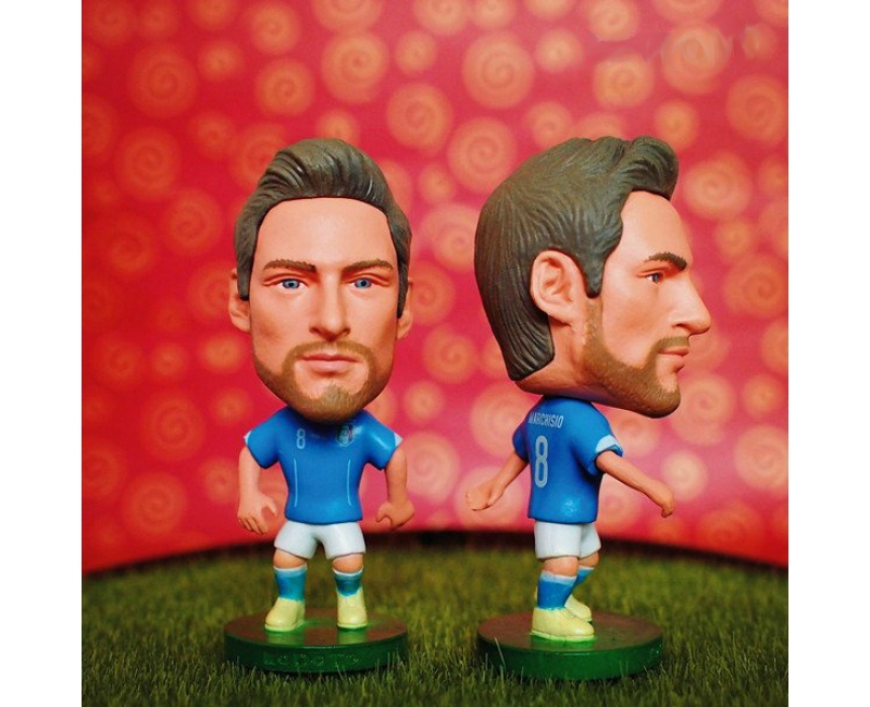 Italy 8 MARCHISIO Soccer Figures