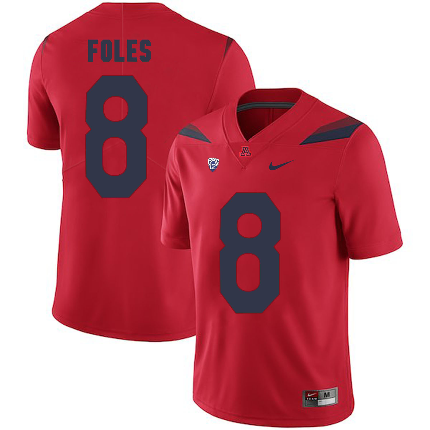 Arizona Wildcats 8 Nick Foles Red College Football Jersey