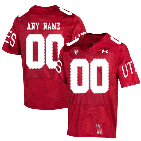 Utah Utes Customized Red 150th Anniversary College Football Jersey