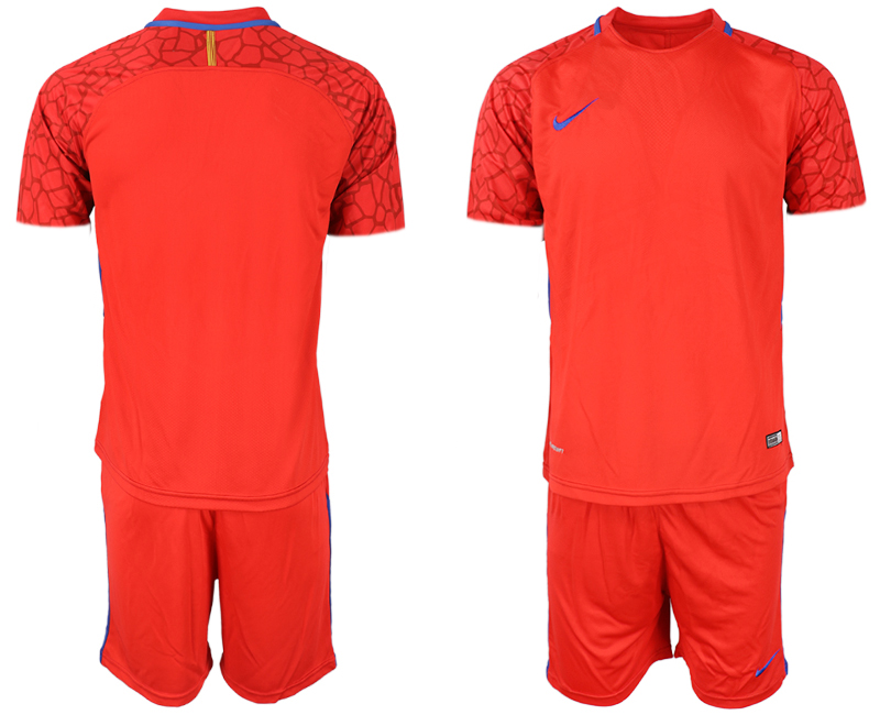 2019-20 USA Fluorescent Red Youth Soccer Jersey
