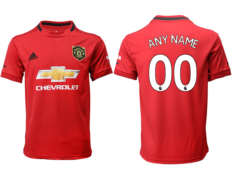 2019-20 Manchester United Customized Home Thailand Soccer Jersey