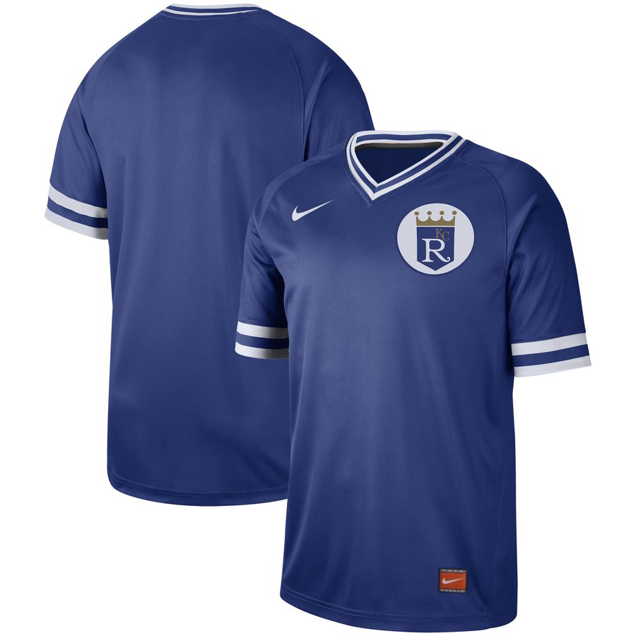 Royals Blank Blue Throwback Jersey