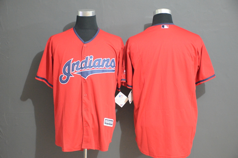 Indians Blank Red Cool Base Jersey