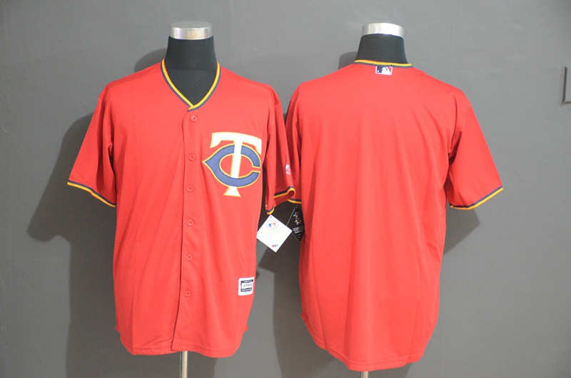 Twins Blank Red Cool Base Jersey