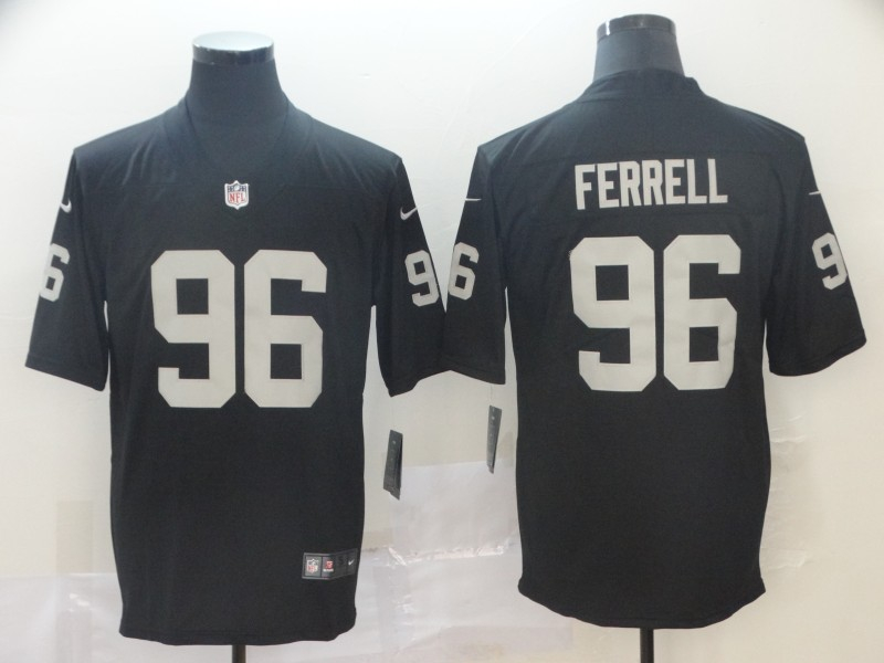 Nike Raiders 96 Clelin Ferrell Black 2019 NFL Draft First Round Pick Vapor Untouchable Limited Jersey