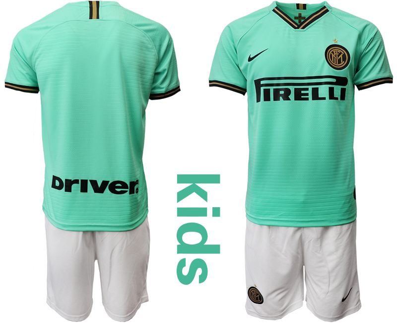 2019-20 Internazionale Milano Away Youth Soccer Jersey