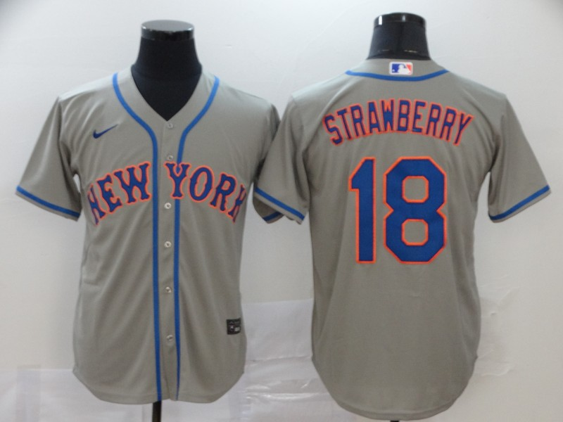 Mets 48 Jacob deGrom Gray 2020 Nike Cool Base Jersey