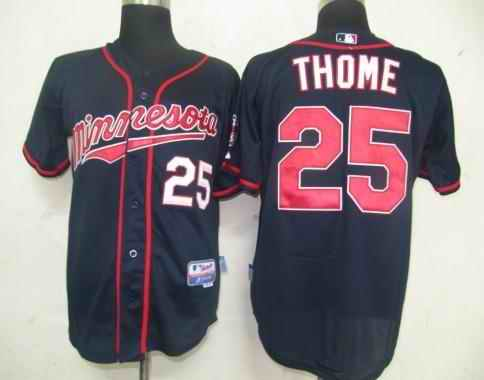 Twins 25 Thome blue 2011 new Jerseys
