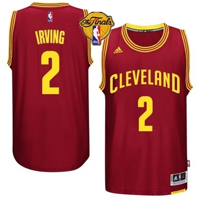 Cavaliers 2 Irving Red 2015 NBA Finals New Rev 30 Jersey