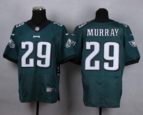 Nike Eagles 29 DeMarco Murray Green Elite Jersey