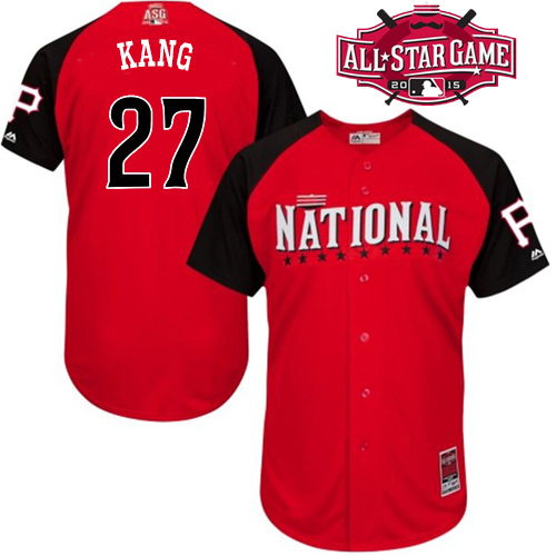 National League Pirates 27 Kang Red 2015 All Star Jersey