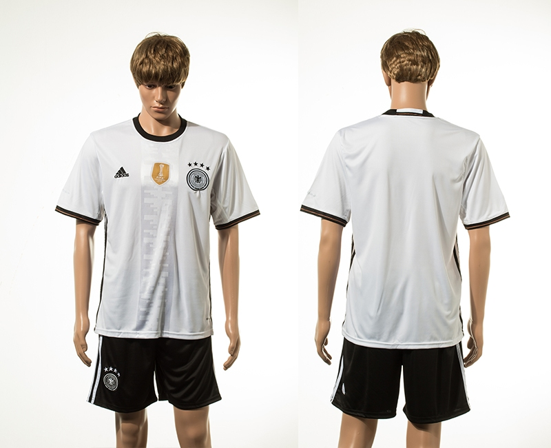 Germany Home UEFA 2016 Customized Soccer Jersey