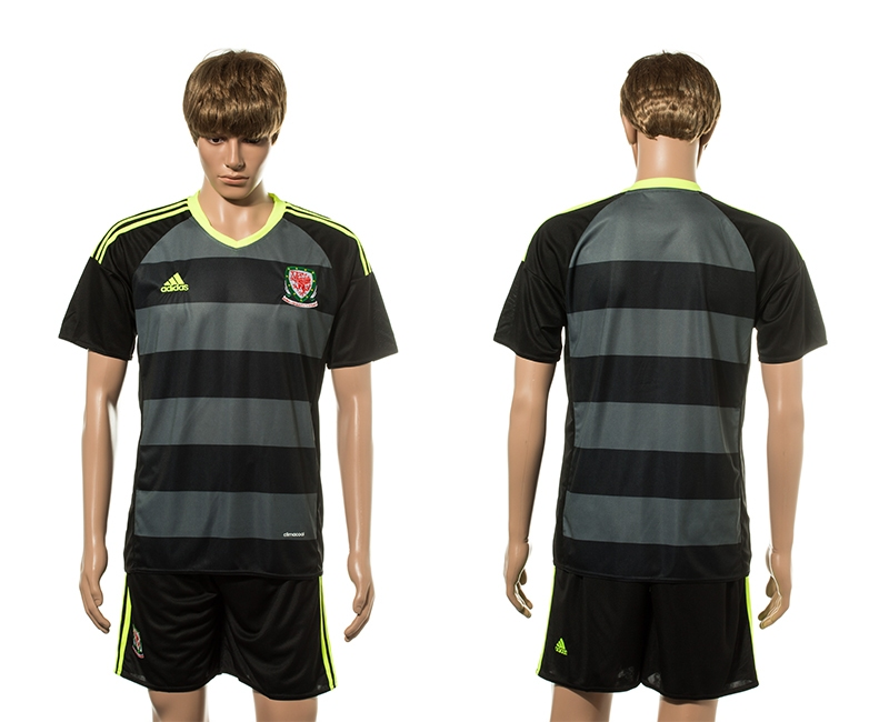 Wales Away UEFA 2016 Customized Soccer Jersey