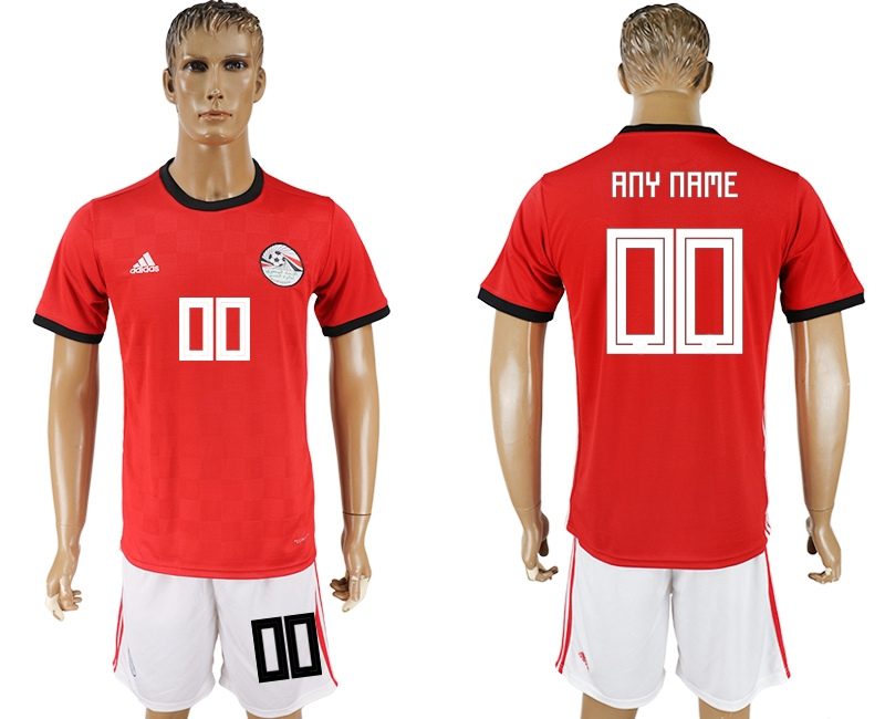 Egypt Home 2018 FIFA World Cup Men's Customized Jersey