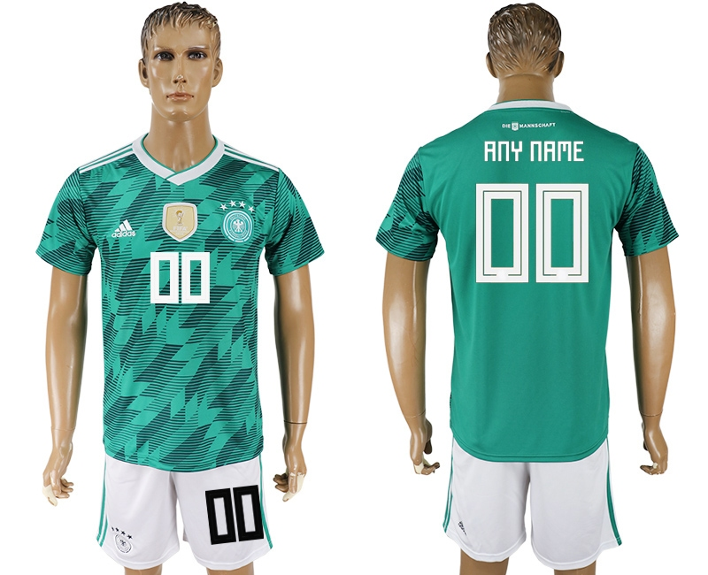 Germany Away 2018 FIFA World Cup Men's Customized Jersey