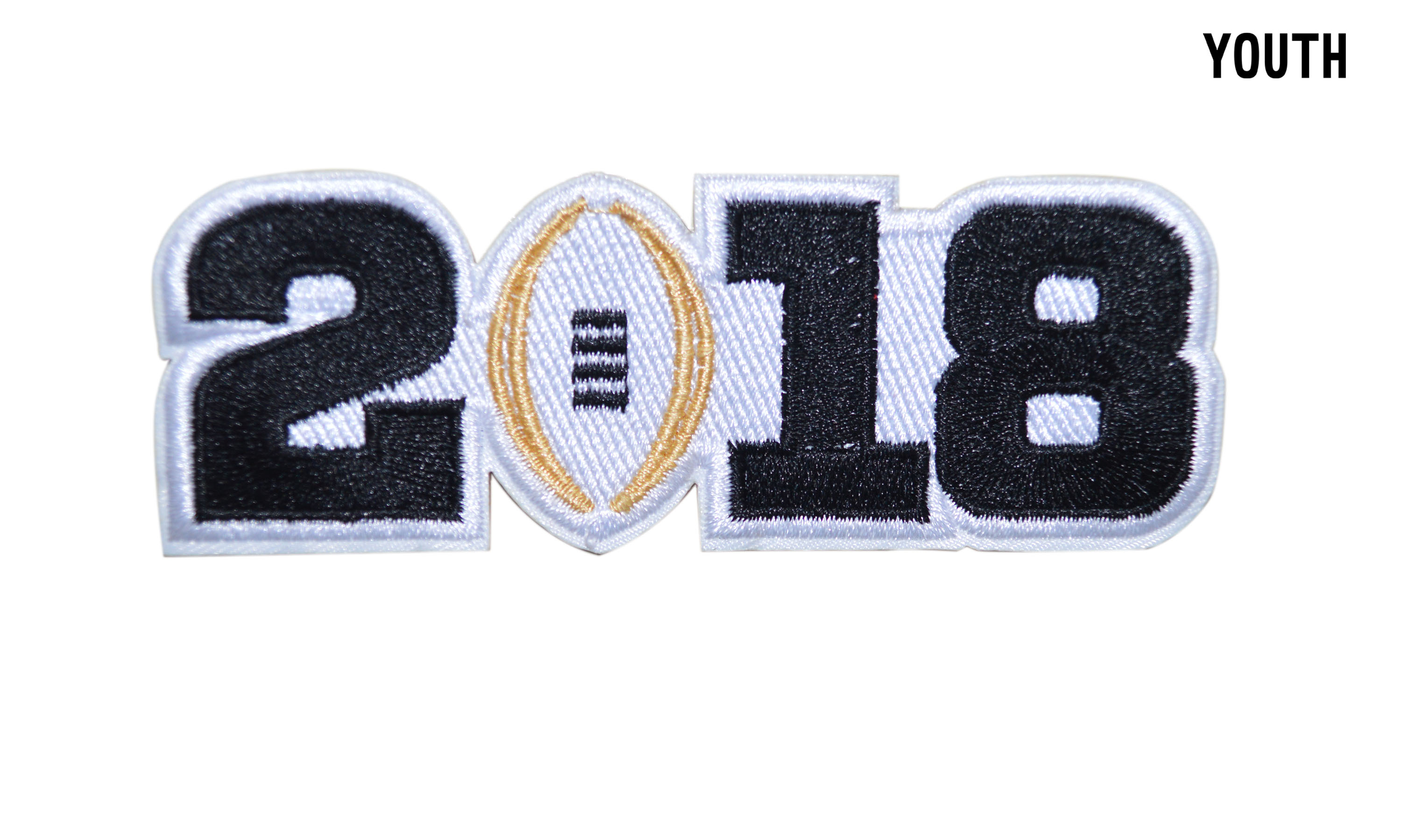 Youth 2018 College Football National Championship Patch White