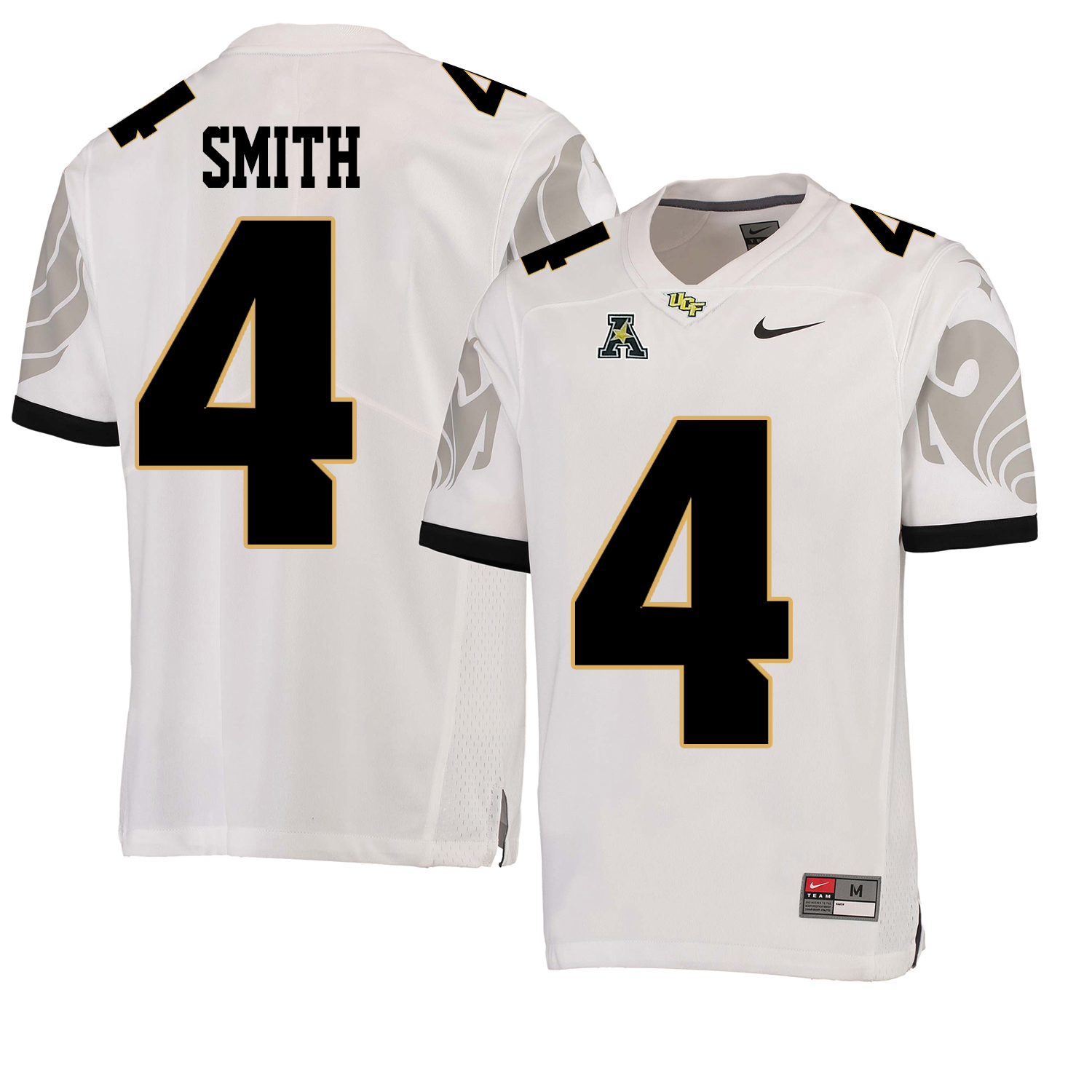 UCF Knights 4 Tre'Quan Smith White College Football Jersey