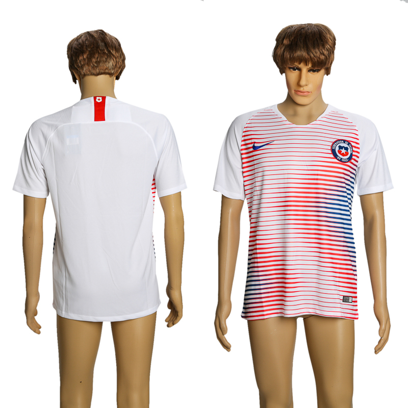 2018-19 Chile Away Thailand Soccer Jersey
