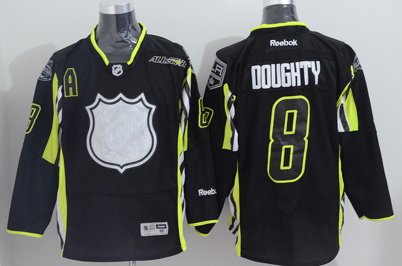 Kings 8 Doughty Black 2015 All Star Jersey