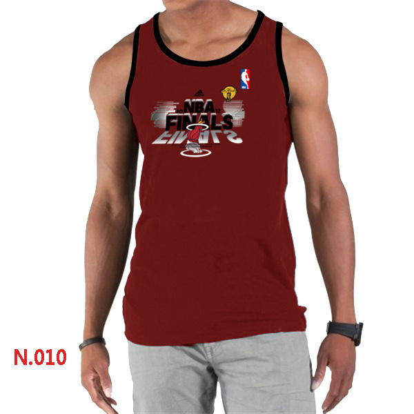 Miami Heat Eastern Conference Champions Men Red Tank Top