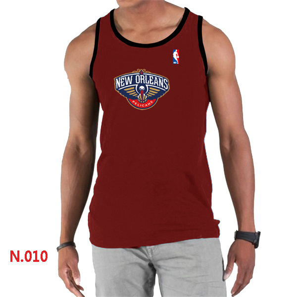 New Orleans Pelicans Big & Tall Primary Logo Men Red Tank Top