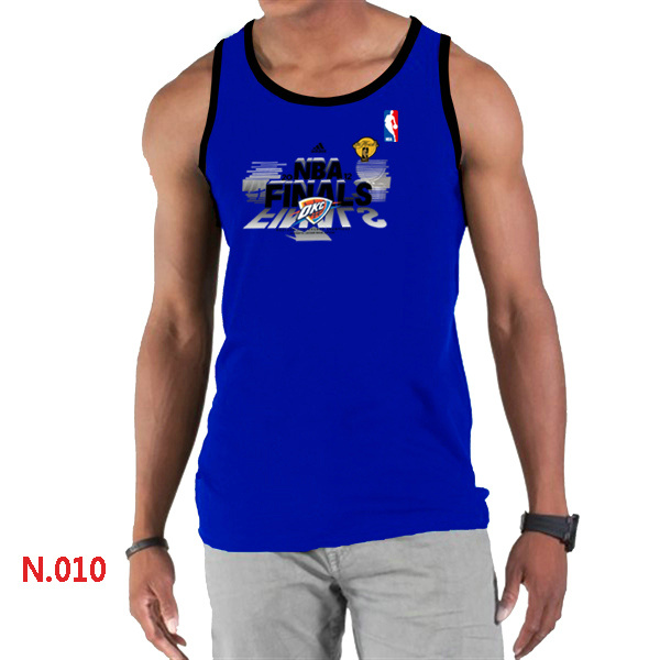 Oklahoma City Thunder Eastern Conference Champions Men Blue Tank Top
