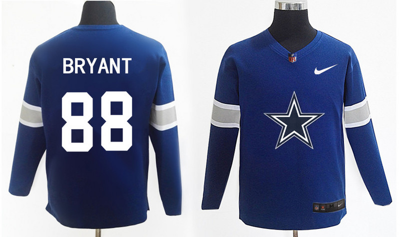 Nike Cowboys 88 Dez Bryant Navy Knit Sweater