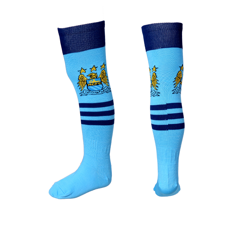 2016-17 Manchester City Youth Soccer Socks