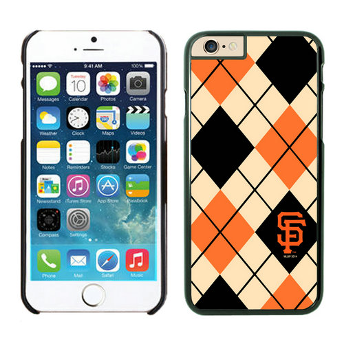 San Francisco Giants iPhone 6 Cases Black