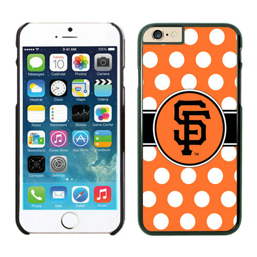 San Francisco Giants iPhone 6 Cases Black03