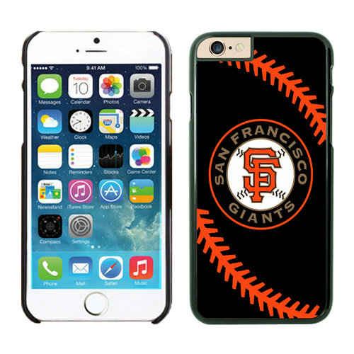 San Francisco Giants iPhone 6 Cases Black04