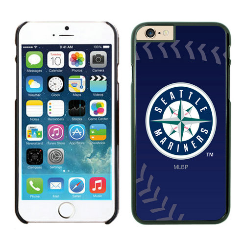 Seattle Mariners iPhone 6 Cases Black