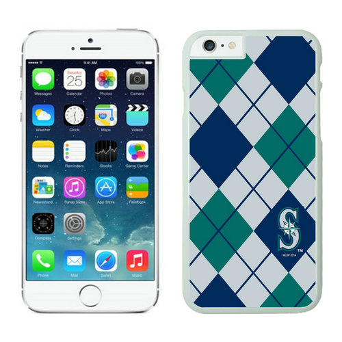 Seattle Mariners iPhone 6 Cases White