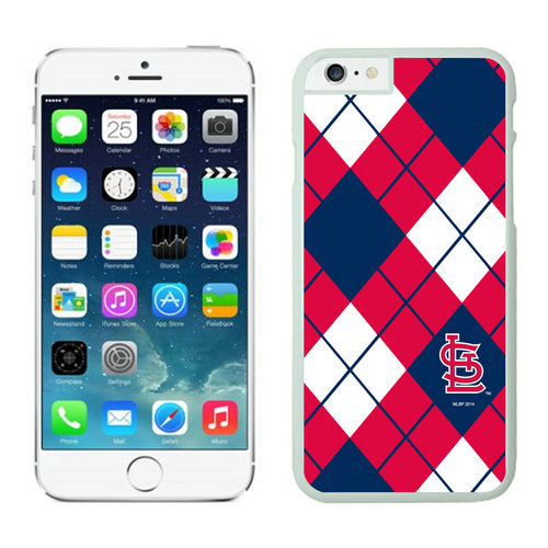 St Louis Cardinals iPhone 6 Cases White