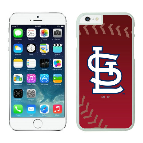 St Louis Cardinals iPhone 6 Cases White03