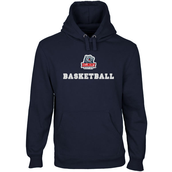 Belmont Bruins Team Logo Navy Blue College Pullover Hoodie2