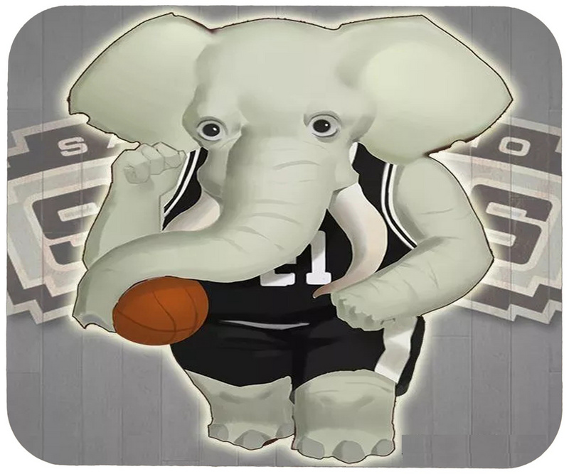 Spurs Cartoon Logo Gaming/Office Mouse Pad