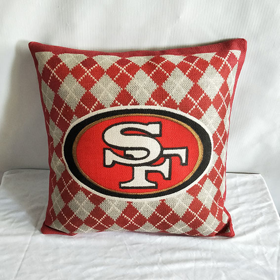 San Francisco 49ers NFL Pillow